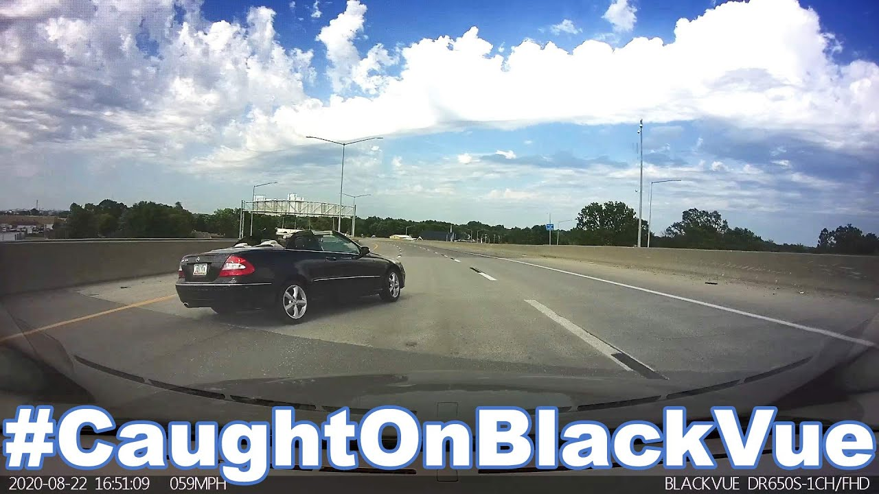 Losing Control On A Highway Ends In A Crash And An Arrest #CaughtOnBlackVue