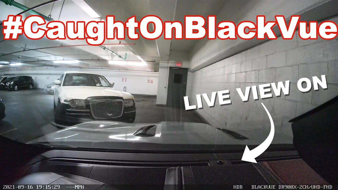 Hitting a 2016 F TYPE JAGUAR in a parking lot! #CaughtOnBlackVue
