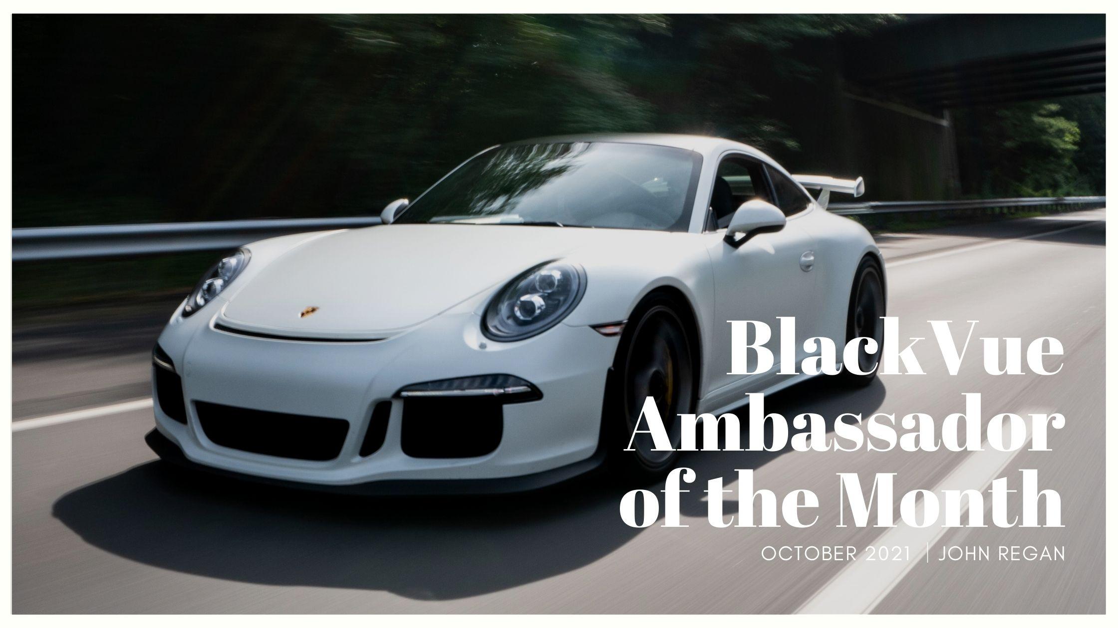 Ambassador of the Month – October 2021