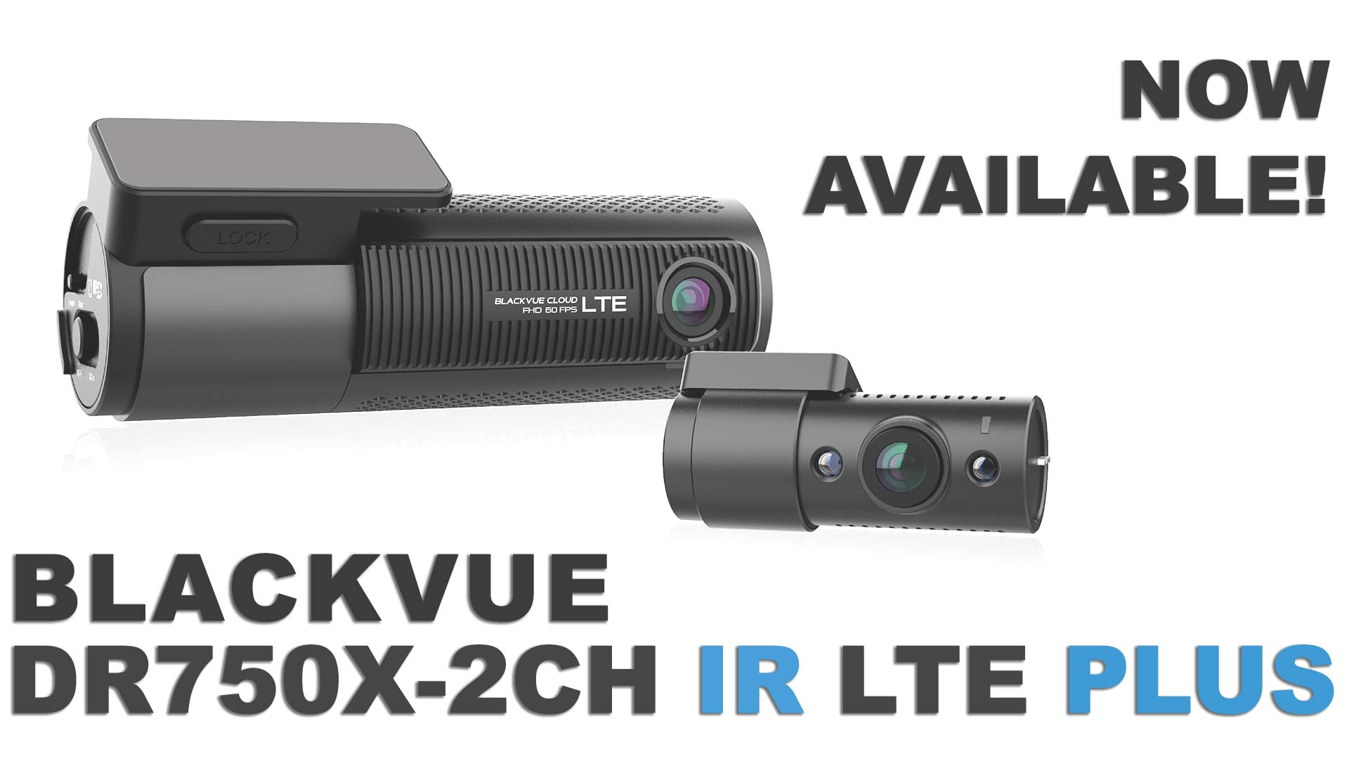 LTE Taxi Dashcam DR750X-2CH IR LTE Plus Now Available